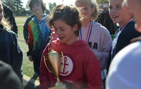 Mila Gresh takes first place at CVC cross country meet
