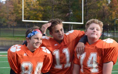 Progression of 7th grade football team