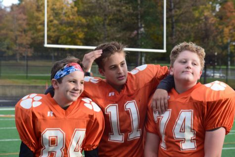 Progression of 7th grade football team