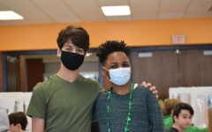 Students celebrate St. Patrick's Day with Green